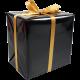 Cadeaupapier zwart 30cm x 200m Tpk346773