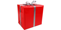 Cadeaupapier rood 30cm x 200m Tpk346823