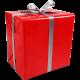 Cadeaupapier rood 50cm 200m Tpk346825