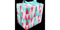 Cadeaupapier -triangle- lichtroze 30cm x 200m Tpk346873