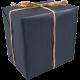 Cadeaupapier -dessin 890- blauw 30cm x 250m Tpk348903