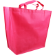 Draagtas non-woven 50x16x40cm roze Tpk271031
