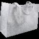Draagtas vilt grijs 45x15x33cm Tpk270728