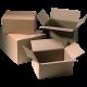Vouwdoos karton 190x125x85mm 25st Tpk385019