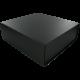 Geschenkdoos 210x195x65mm zwart 5st Tpk496866