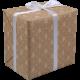 Cadeaupapier Kerst natural 50cm 200m Tpk783815