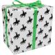 Cadeaupapier Sint wit/zwart 50cm 200m Tpk767055