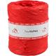 Raffia poly 15mm rood Tpk713182